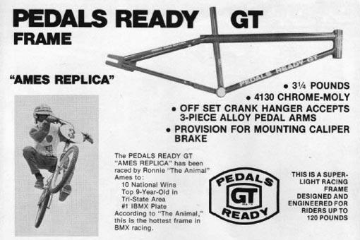 Vintage Original 2001 GT BMX Bicycle Catalog