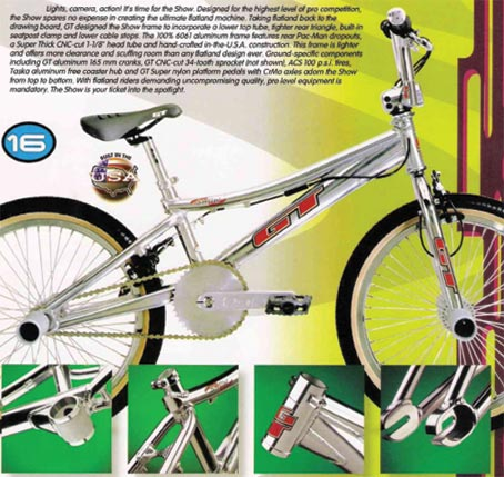 Vintage Original 1993 GT Bicycle Catalog