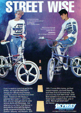 mat hoffman scott freeman skyway bmx ad