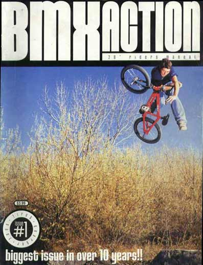 Mike Aitken bmx action