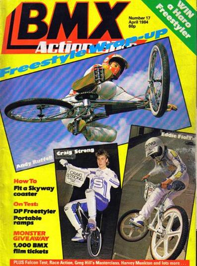 eddie fiola bmx action bike