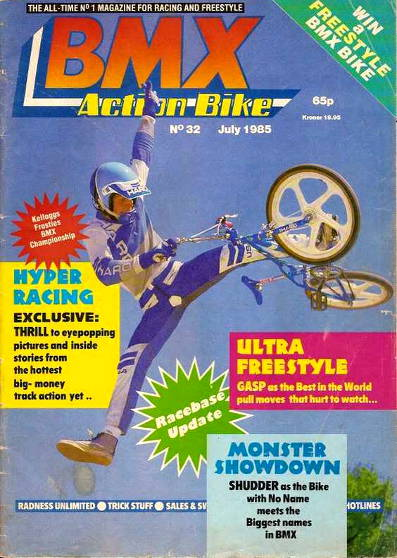 ron wilkerson bmx action bike 32