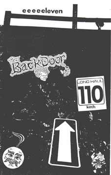 Backdoor Zine 23mag Bmx