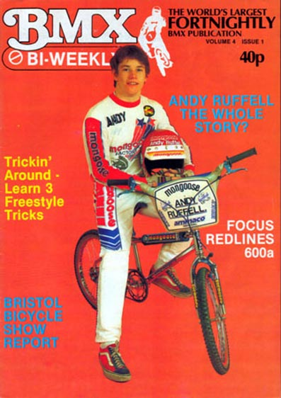... december 1993 : As BMX grew in the early eighties so did the magazines ...