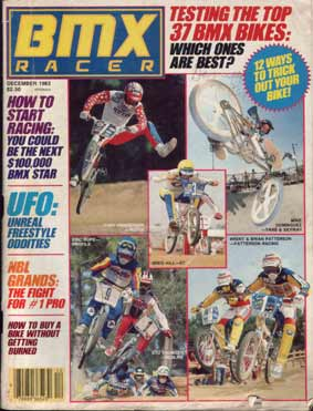 mike dominguez bmx racer cover