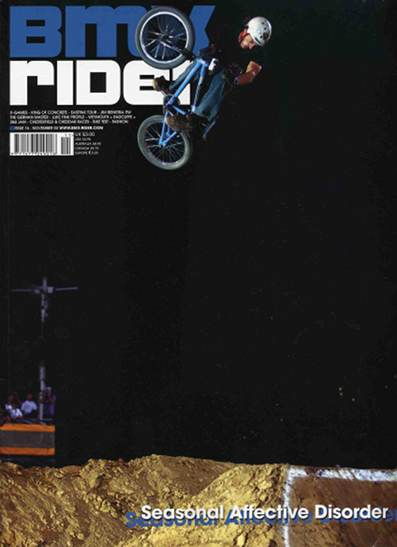 brian foster bmx rider cover