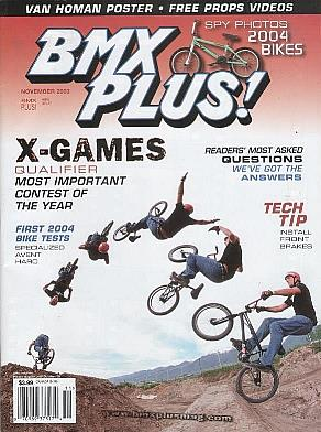 tj lavin bmx plus! 11 03