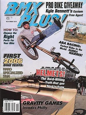 corey martinez bmx plus! november 2005