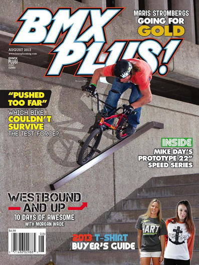 morgan wade bmx plus! 08 2013