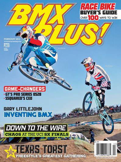 BMX Plus Magazine back issues 2015