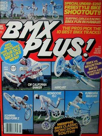 Bmx Plus Magazine 1986 23mag Bmx