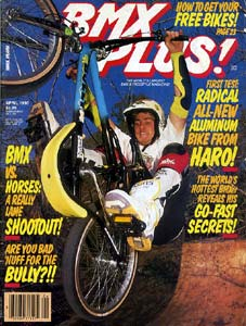 mike dominguez bmx plus cover