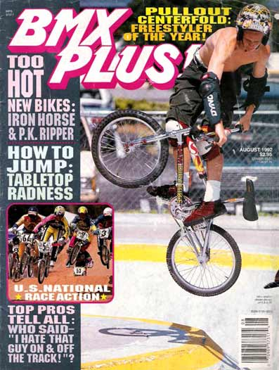 jimmy levan bmx plus 08 1992