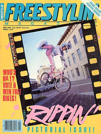 woody itson freestylin bmx 05 1985