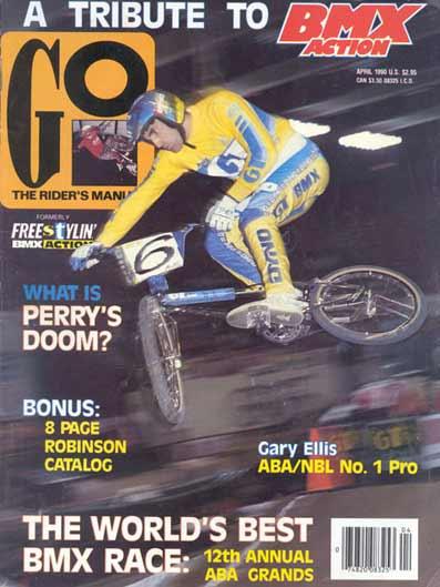 BMX Action magazine back issues 1989  bmx snap ride bmx action go mid old school