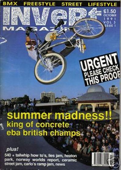 jamie bestwick invert bmx 10 1991