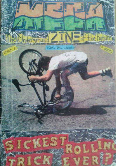 scott powell york jam bmx mega zine