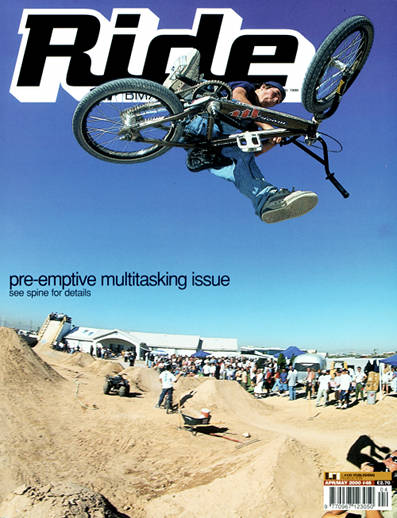 Mike Aitken cover of Ride BMX UK 46