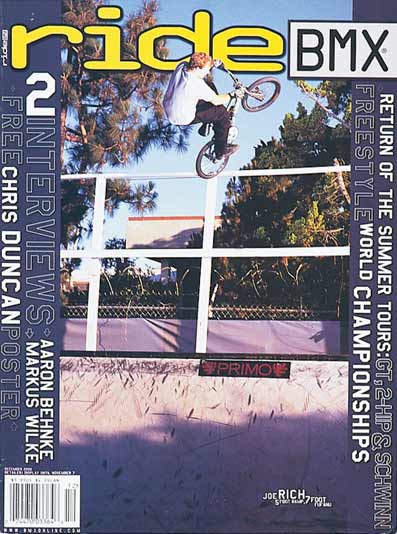 joe rich ride bmx us 12 2000