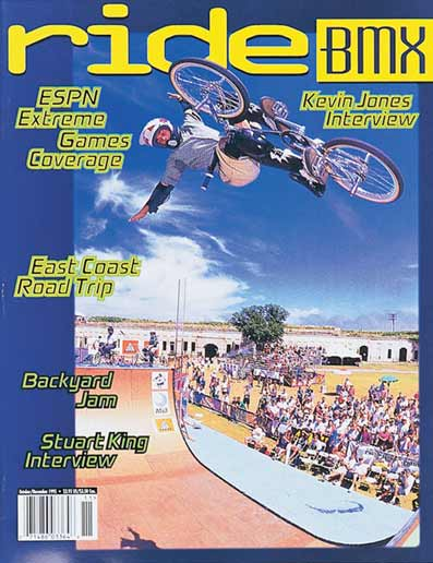mat hoffman x games ride bmx 10 1995