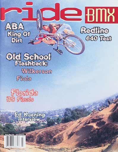 brian foster Ride BMX US cover