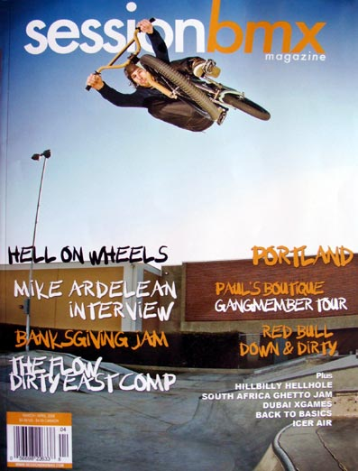 Mike hand selected the team including...  Mike Ardelean, thecomeupbmx...