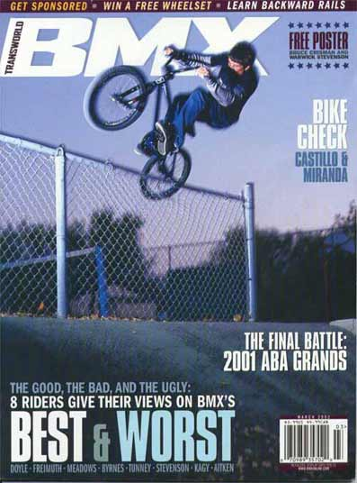 Mike Aitken transworld BMX