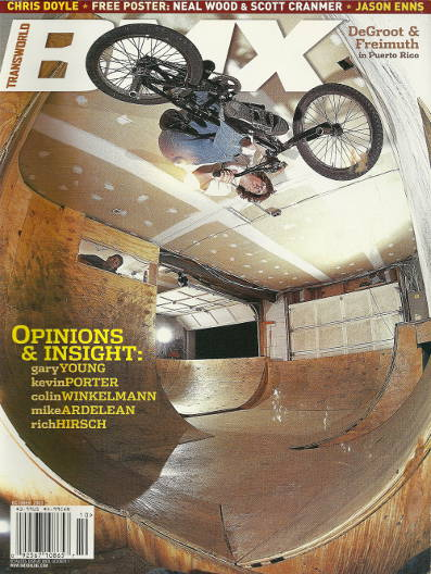 van homan transworld bmx october 2003.